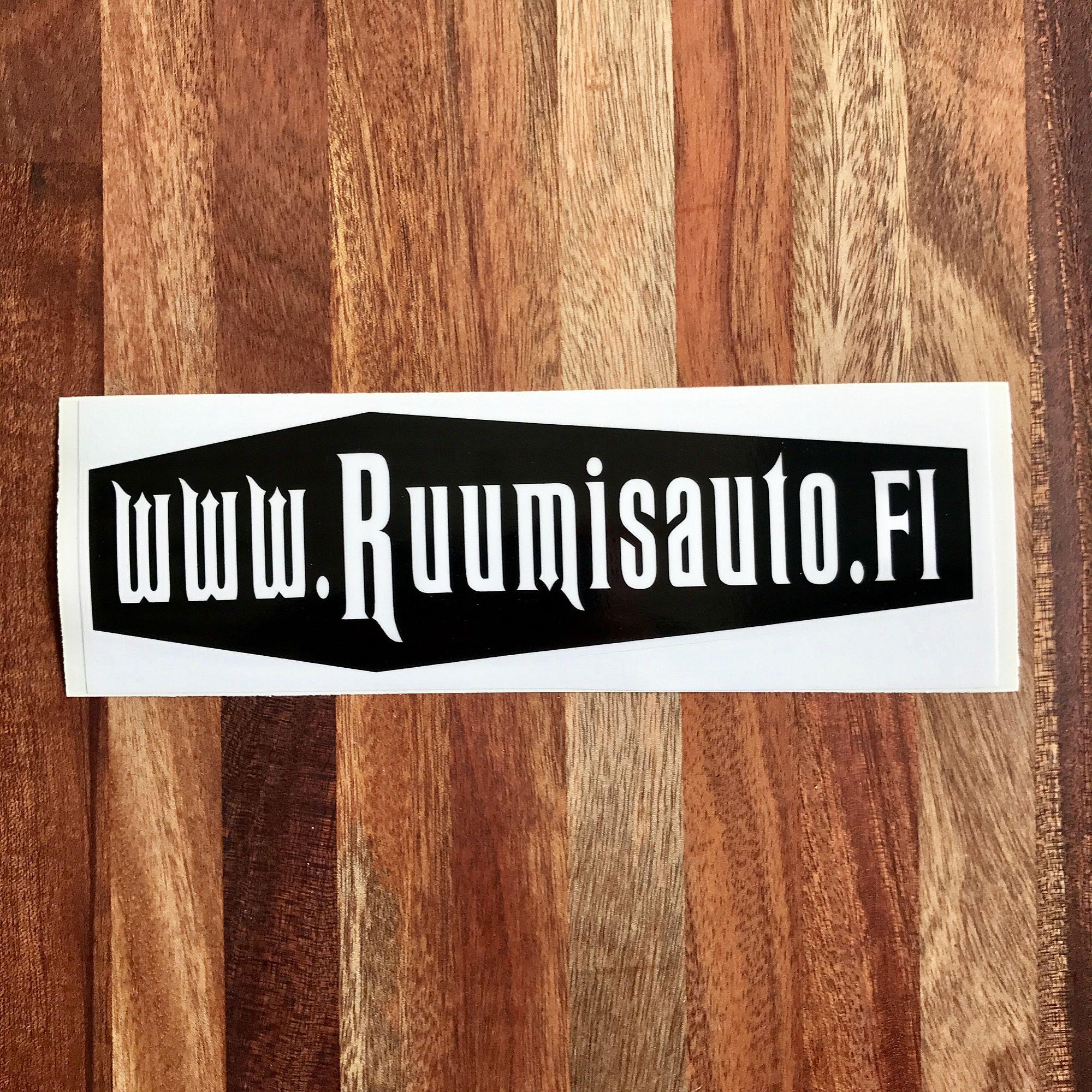 www.Ruumisauto.fi -tarra