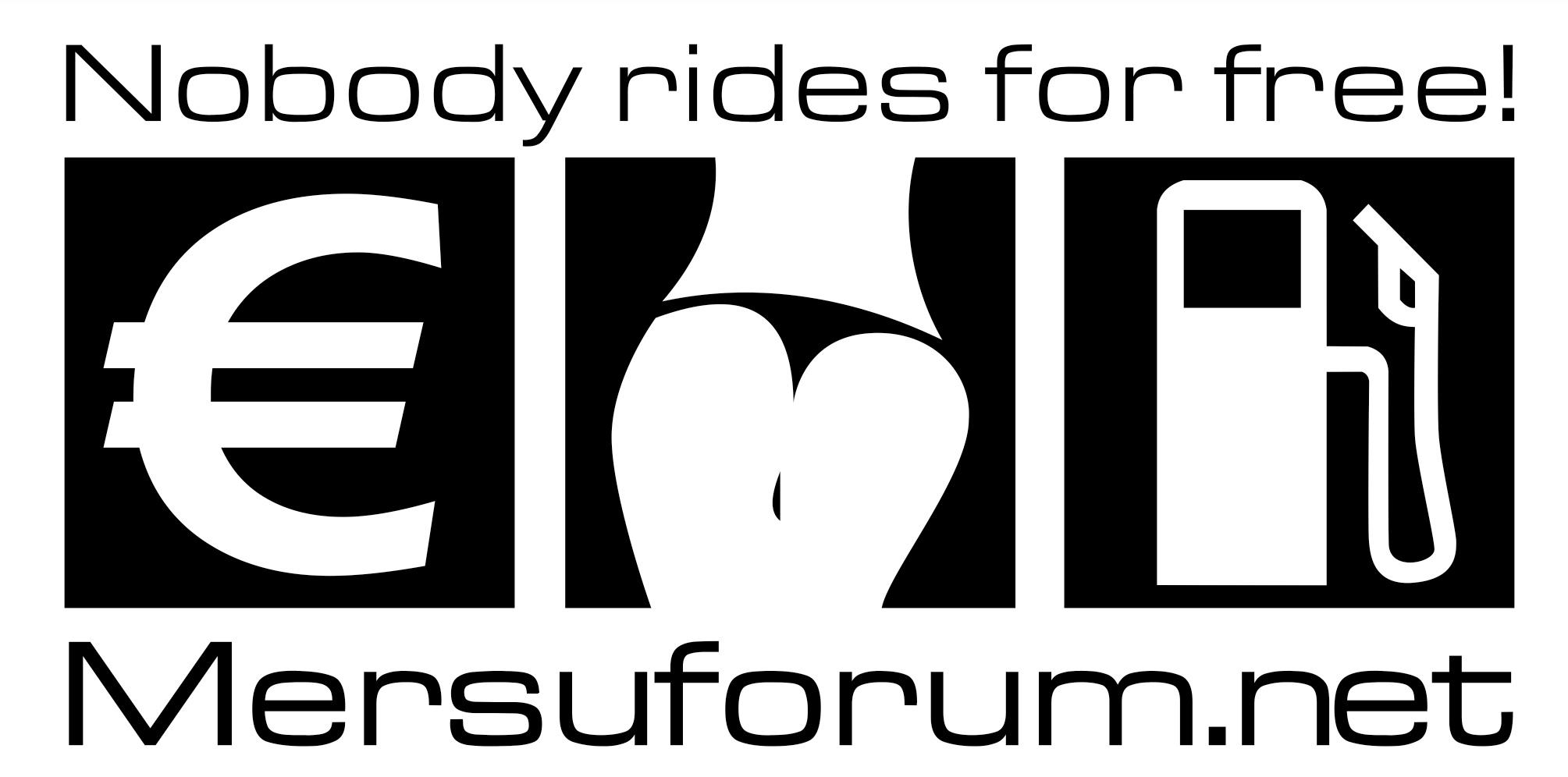 Nobody rides for free! -tarra
